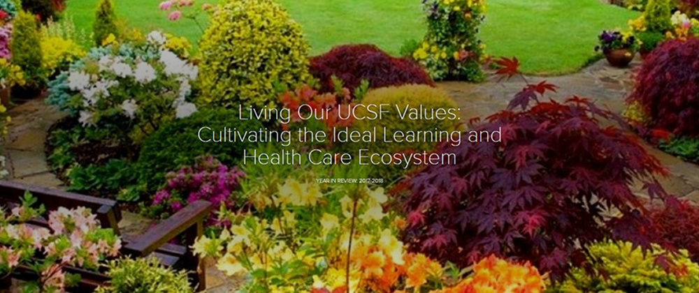 Living Our UCSF Values: 2017-2018 Annual Report