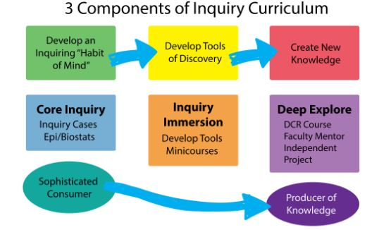3 components of inquiry