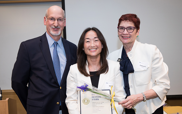 Andrew Goldberg, MD; Catherine Lucey, MD; and Nanah Suk Park, MD