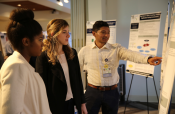 School of Medicine students discuss their CMC projects