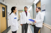 UCSF medical students in clerkships