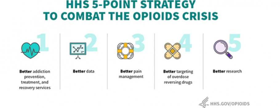 five point strategy to combat the opioid crisis