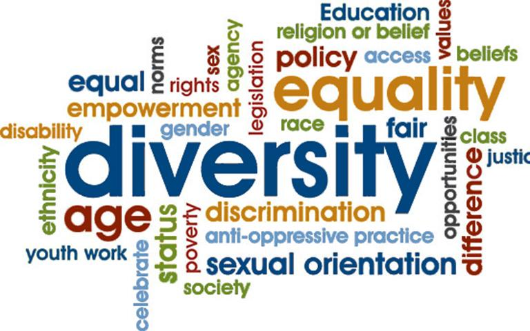 Diversity wordcloud