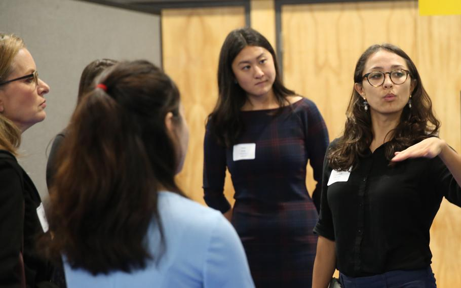Medical students present their research at the Summer Explore Symposium on Dec. 13, 2019