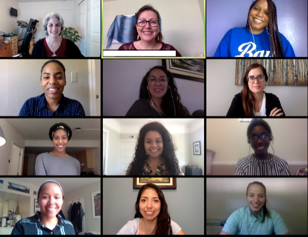 Between 50 and 100 FACES Health Scholars attended each of the four virtual sessions hosted by the Pediatrics Diversity Committee.